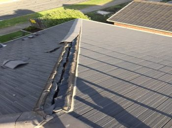 Roof repairs that are covered by your insurance provider